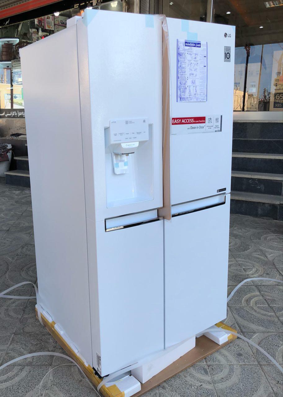 یخچال ساید ال جی مدل 337 سیلور