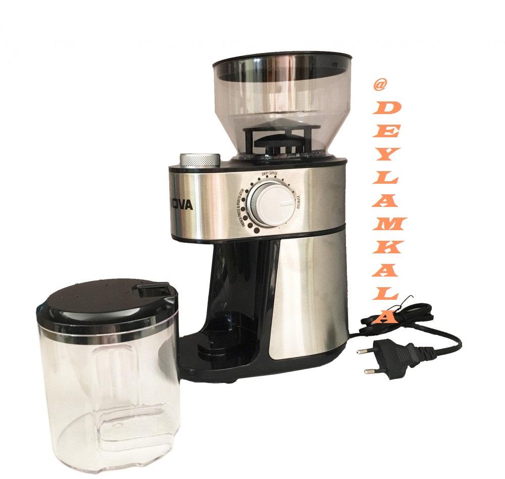 آسیاب قهوه برقی نوا مدل NCM-130CGM